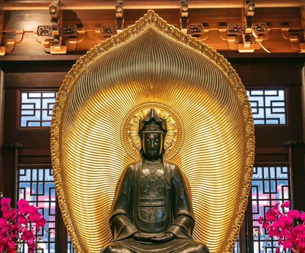 见者有福!玉佛禅寺的观音菩萨圣像你见全了吗?