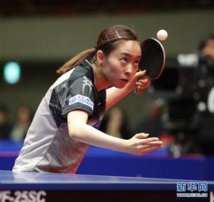 亚洲杯女单半决赛:陈梦胜石川佳纯