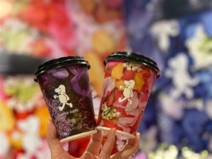 IG新宠儿!买杯咖啡就能拥有cama四款绝美联名花杯