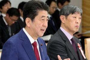 追踪安倍晋三首相(2日)