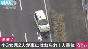 日本一司机因发呆闯红灯 导致小学女童1死1重伤