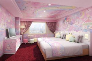 世界初超梦幻Kikilala&美乐蒂主题房就在多摩京王广场饭店!
