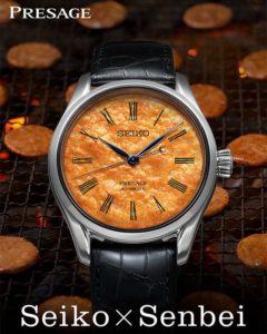 史上最美味腕表诞生酱油仙贝也能当表盘?