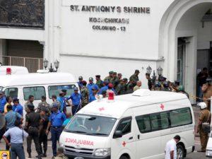 快讯:斯里兰卡爆炸致1名日本人死亡