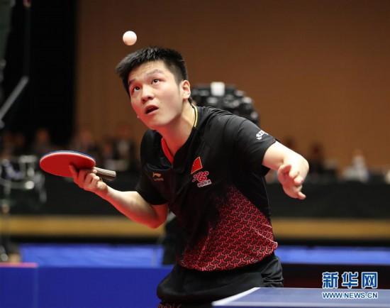 亚洲杯:樊振东胜张本智和晋级决赛