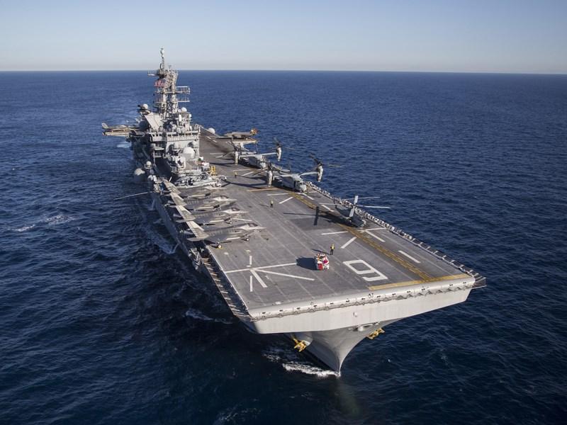 日媒:美军将在长崎部署新型两栖攻击舰