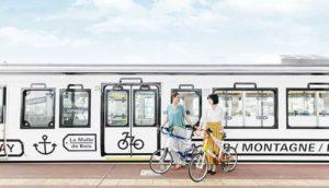 搭乘观光列车「La Malle de Bois」到宇野、尾道、琴平,来趟悠闲自行车之旅