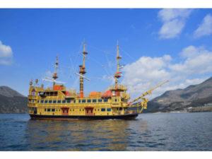 """箱根海盗船迎来第七代船型""""女皇芦之湖"""" 正式下水起航"""