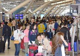 关西机场黄金周旅客量预计达80万人次 中韩两国人气高