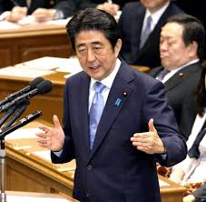 民调:仅40%日本人支持安倍修改《宪法》第九条方案