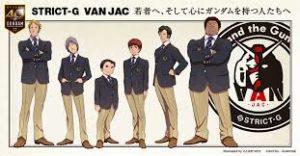 《机动战士高达》与VAN JACKET联动服装发售决定