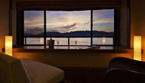 可享受宫岛天然温泉的百年旅馆:锦水馆