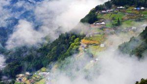 云上的天空之村:落合集落