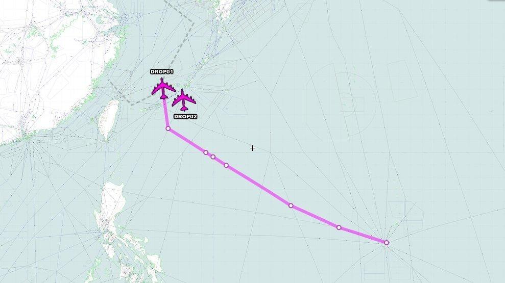今年第四次!美军今出动B-52飞过东海接近冲绳