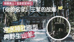 【海外山旅影片】飞驒古川森林漫步,「你的名字」气多若宫神社!