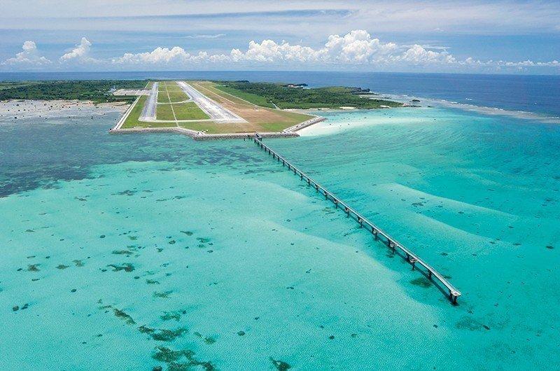 一下飞机就能感受度假风情!冲绳离岛宫古岛「全新机场航厦」落成!