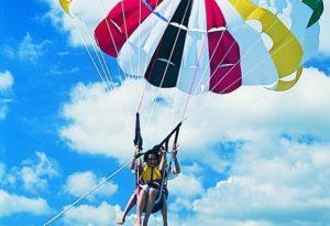 冲绳必玩户外活动  冲绳帆伞活动