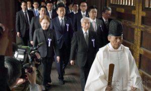 日本顾及对华关系改善 无阁僚参拜靖国神社