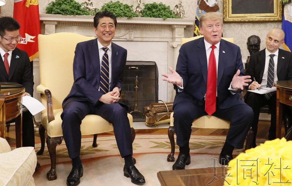 日美就尽快谈妥贸易谈判取得一致