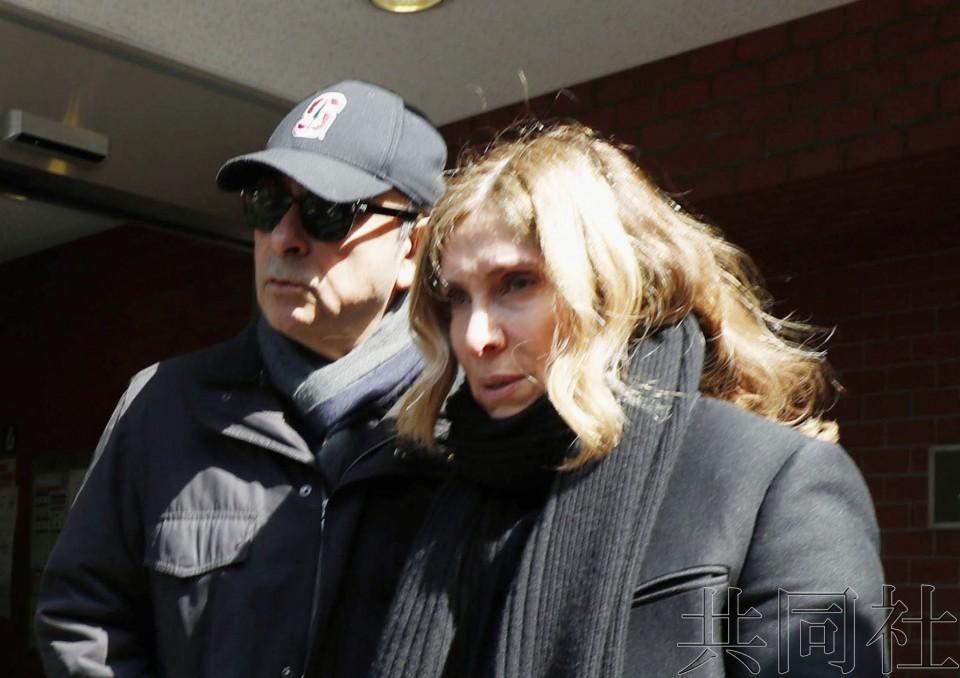 戈恩被禁止与妻子接触的期限不明 律师可申请解除