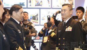 日本海上幕僚长时隔5年访华 参加阅舰式及相关活动