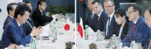 安倍与波兰总理确认合作 考虑应对中俄
