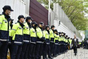 韩国釜山市政府撤走日本总领事馆附近劳工像