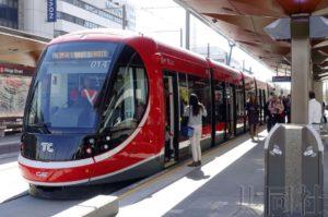 澳大利亚首都新一代轻轨竣工 三菱商事有出资