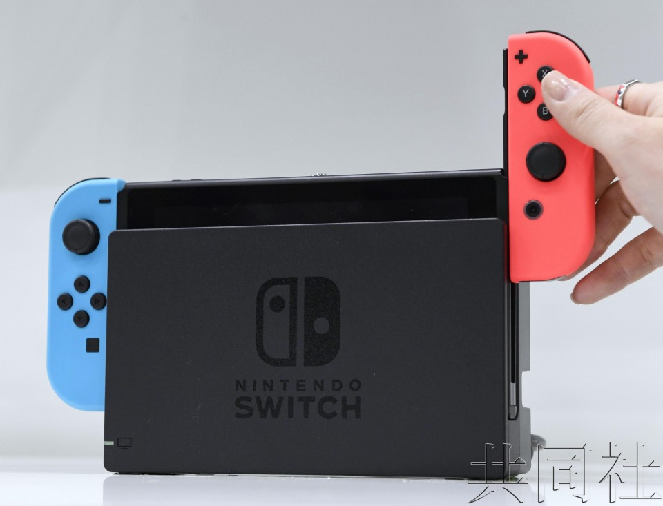 中国广东省批准腾讯销售任天堂Switch