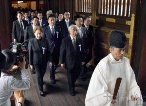 详讯:日本跨党派议联参拜靖国神社