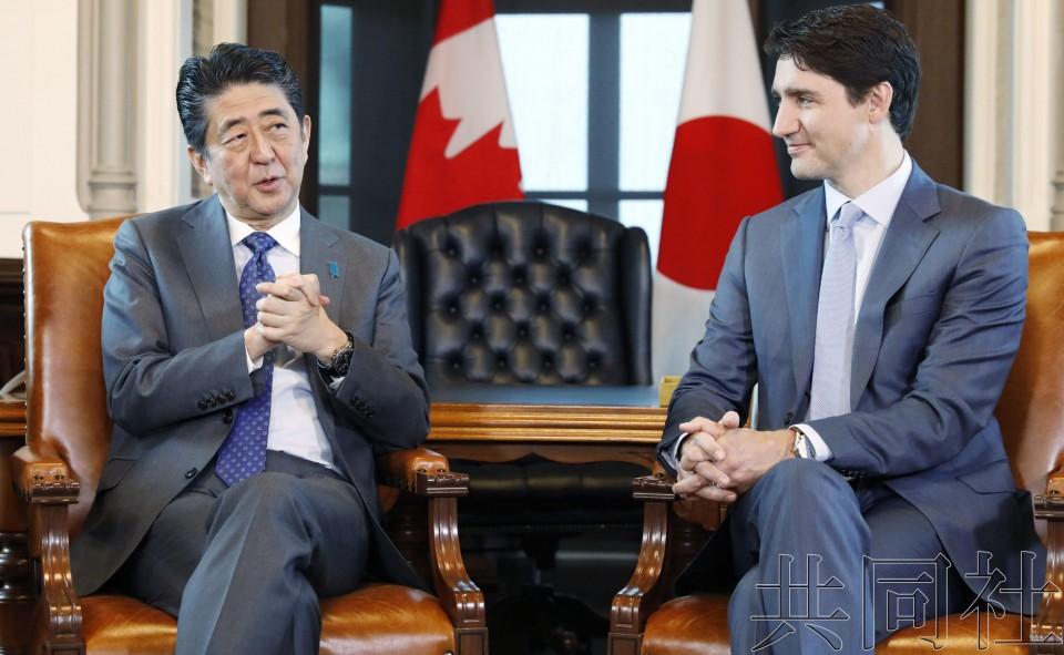 日加首脑确认将为成功举办G20而合作