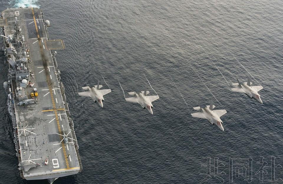 """美军拟部署两栖攻击舰""""美国""""号强化佐世保基地战力"""