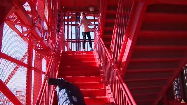 東京タワー公式YouTube「東京タワーを階段で昇ろう!」から引用