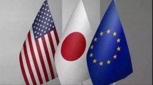 日美欧拟本月下旬举行贸易部长会议 磋商WTO改革