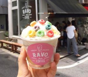 夏威夷风格缤纷可爱的「Ravo Bake Coffee」