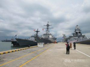 新加坡国际海防展美日澳舰参展