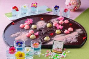 「百人一首甜点吃到饱」和洋折衷梦幻甜点天堂