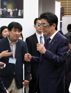追踪安倍晋三首相(21日)