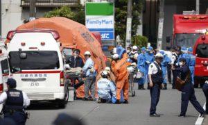 日随机杀人50多岁嫌死亡目击者:他袭击等公车的小学生
