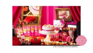 Hello Kitty主题甜品吃到饱