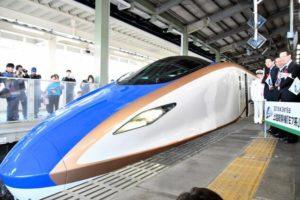 日本上越新干线最高时速在2023年春季前全线提高至275公里