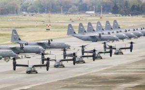 日本一男子用激光照射美军飞机被逮捕
