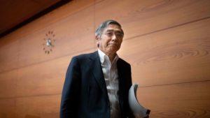 黑田东彦:超低利率或在未来一年多继续维持