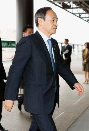 日官房长官菅义伟访美 力争和美政府加强合作