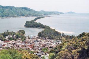 天桥立:「日本三景」松林散步