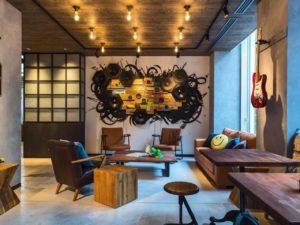 MOXY x IKEA设计风格酒店@MOXY Osaka Honmachi