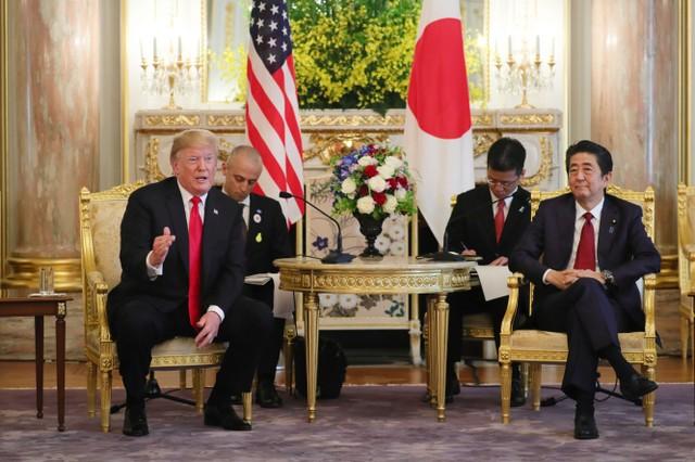 快讯:安倍称日美同意加快贸易谈判以获成果