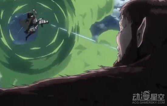 《进击的巨人》最新动画制作炸裂 兵长VS猿巨人超燃