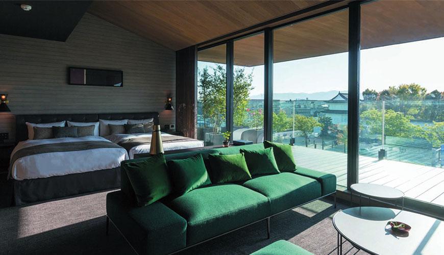 开窗独享世界遗产二条城!京都饭店「HOTEL CANATA KYOTO」感受优雅质感的住宿体验