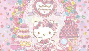 【大分】三丽鸥和谐乐园Hello Kitty诞生45周年纪念活动